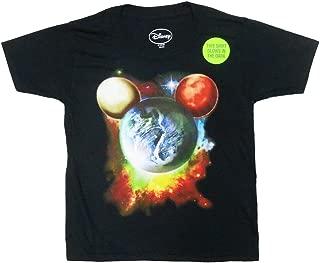 Disney Boys Mickey Mouse Planet Head T-Shirt