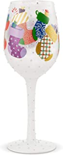 Best christmas wine glasses hand painted Reviews