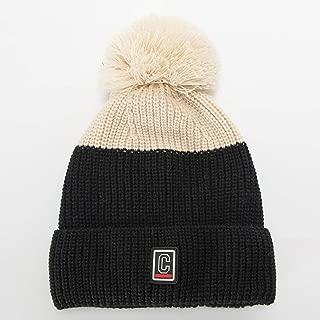 DDKK winter hats BeanieTail Warm Knit Messy High Bun Ponytail Visor Beanie Cap-Daily Knit Visor Brim Beanie Hat Fleece Lined Skull Ski Cap