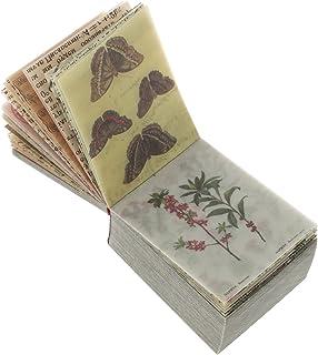 Artibetter Album Papier Pad Vintage Scrapbooking DIY Matériel Animal Floral Papier Décoratif Antique Rétro Scrapbooking Pa...