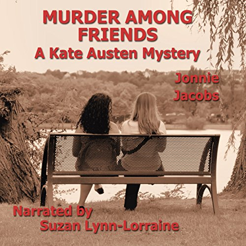 Murder Among Friends audiobook cover art