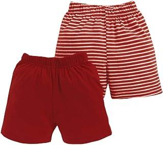 Hopscotch Men's & Women Regular Shorts (Pack of 2)