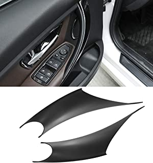 Jaronx 2PCS Door Handle Covers For BMW 3 Series 4 Series Driver Side & Passenger Side Door Pull Handle Covers (For:BMW 320...