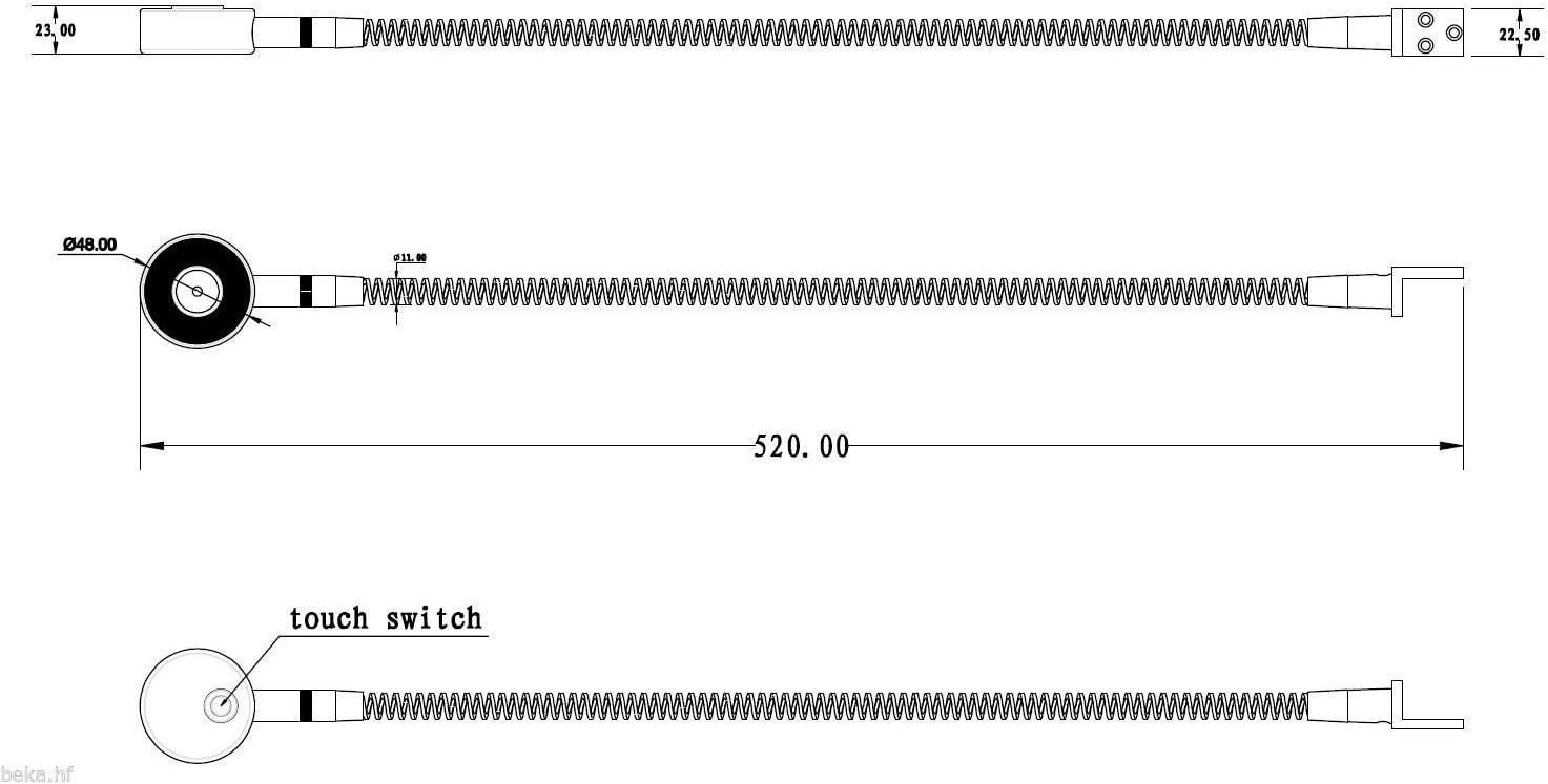 LED Bettleuchte Leseleuchte Bettlampe Flexleuchte chrom silbergrau Touch Schalt, Farbe:silbergrau/alu eloxiert, Größe:2er Set Verchromt 2er-set