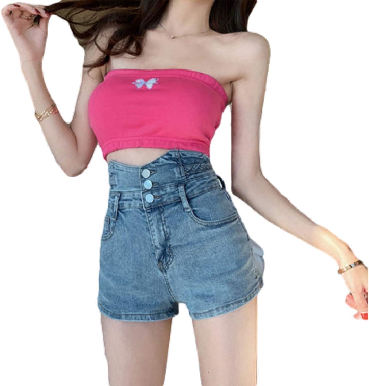 Women's Personality High Waist Design Stret Shorts Special price Fashion Denim supreme
