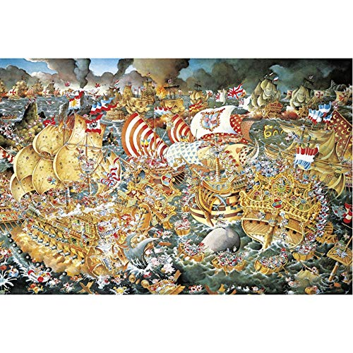 Paisaje Rompecabezas 2000 Unidades for Adultos, portátil Jigsaw Puzzle Junta - Trafalgar, Divertidos Juegos Familiares, Diseño de Interiores (42x30 Pulgadas)