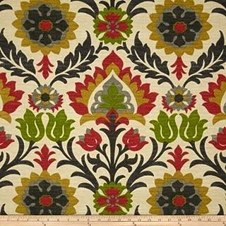 Waverly Sun N Shade Santa Maria Jewel Fabric By The Yard by Waverly