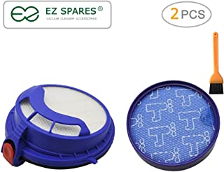 EZ SPARES Vacuum Cleaner DYS DC25 Compatible Prefilter and Post Motor HEPA Filter Replacement DC25 Vacuum Filter Compare to Part 919171-02 916188-06