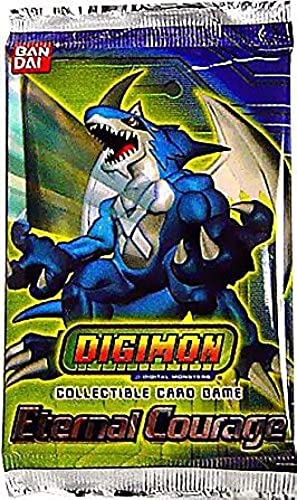 Digimon Collectible voitured Game Eternal Courage Booster Pack [Toy]