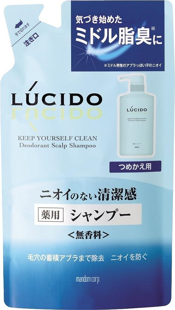 ピケ発生する調べるLUCIDO (ルシード) 薬用スカルプデオシャンプー つめかえ用 (医薬部外品) 380mL