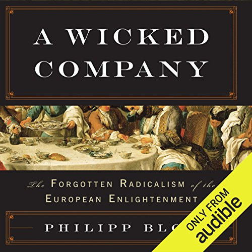 A Wicked Company audiobook cover art