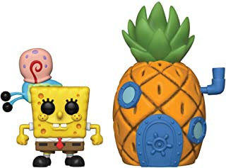 Funko- Pop Vinilo Squarepants S3: Spongebob w/Pineapple Figura Coleccionable, Multicolor, Estándar (39547)