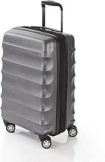 Antler 4507123258 Juno Metallic DLX 4W Cabin Roller CASE, Charcoal, 56 cm