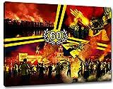 Ultras-Art Dresden Geburtstag Sechzig Format: 60x40, Bild
