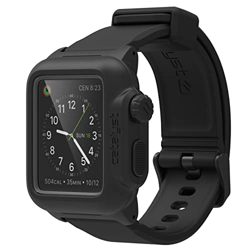 new product 32d32 d30ea Waterproof Case for 38mm Apple Watch: Amazon.com
