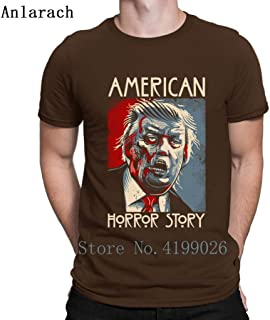 Custom Donald Trump American Horror Story T-Shirts Size S-3xl Letters Design Tee Top Crazy T Shirt