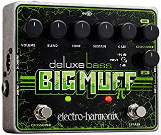 Electro Harmonix 665212de efecto Guitarra eléctrica con sintetizador filtro Deluxe Bass Big Muff Pi