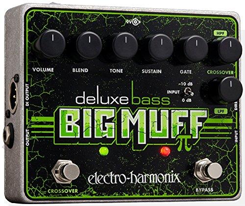 Electro Harmonix, Big Muff PI 665212, Effekt einer E-Gitarre mit Synthesizer, Filter, Bass