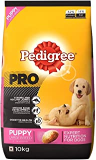 Pedigree PRO Expert Nutrition, Dry Dog Food Food for Large Breed Puppy (3-18 Months), 10kg Pack