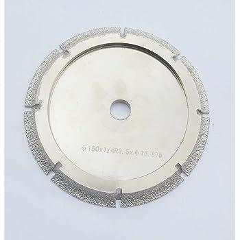 6 Inch Diamond Profile Wheel Of 3 8 Radius Bull Nose Fit On Tile Saw For Granite Marble Countertop 3 8 Radius Demi Bull Nose Amazon Com