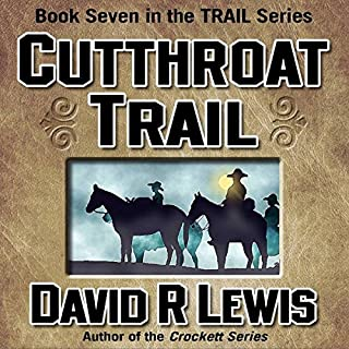 Cutthroat Trail audiobook cover art