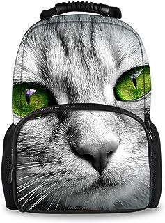 fhdc Zaino Zaino Per Animali Da Stampa Gatto 3D Per Computer Portatile Da Viaggio Zaini In Feltro Femminile Confezione Giornaliera Grande Capacità SacH3432A