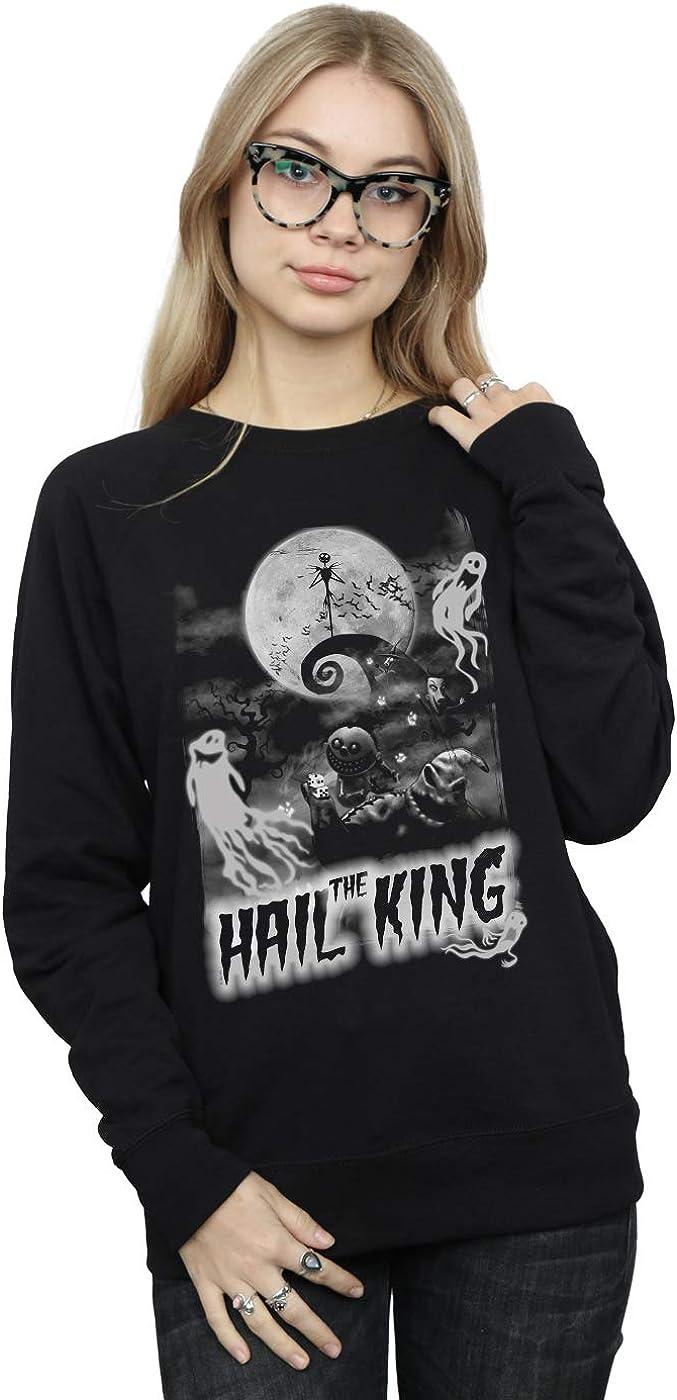Disney Women's Nightmare Before Ranking TOP17 Christmas The Opening large release sale King Sweatshi Hail