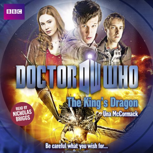 Doctor Who: The King's Dragon audiobook cover art