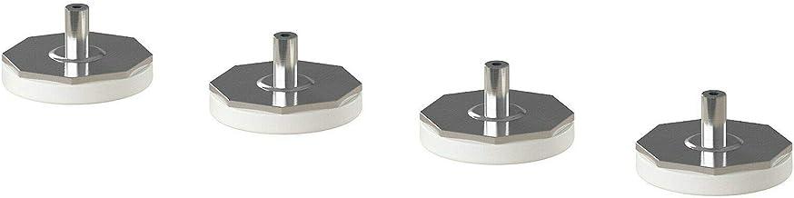 Nieuw IKEA LATTHET Been, Verstelbaar, Keukenkast Benen (4in1pack) [Wit]