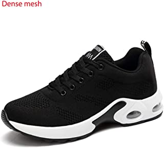 SKLT Air Cushion Women Lightweight Sneakers Mesh Running Shoes Outdoor Sports Shoes Breathable Comfortable Walking Dancing Shoes Pink