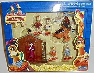 Chicken Run Playset: Rocky, Ginger, Fowler, Mac, Mrs. Tweedy