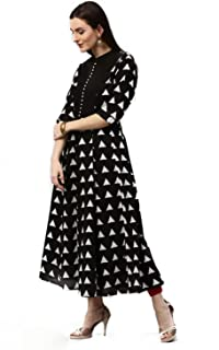 AnjuShree Choice Women Stitched Cotton Anarkali Kurti/Kurtis/Kurtis for women/Women kurti/Anarkali Kurti