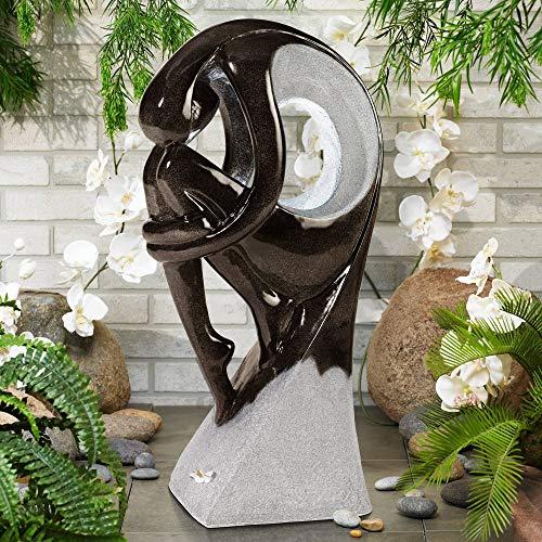 John Timberland Graceful Form 43' High Modern Fountain
