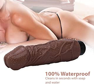 9.05 Inch Huge Dick Pénis Waterproof Silicone Massager - Keep Dry and Keep in A Secret Place whyszygd