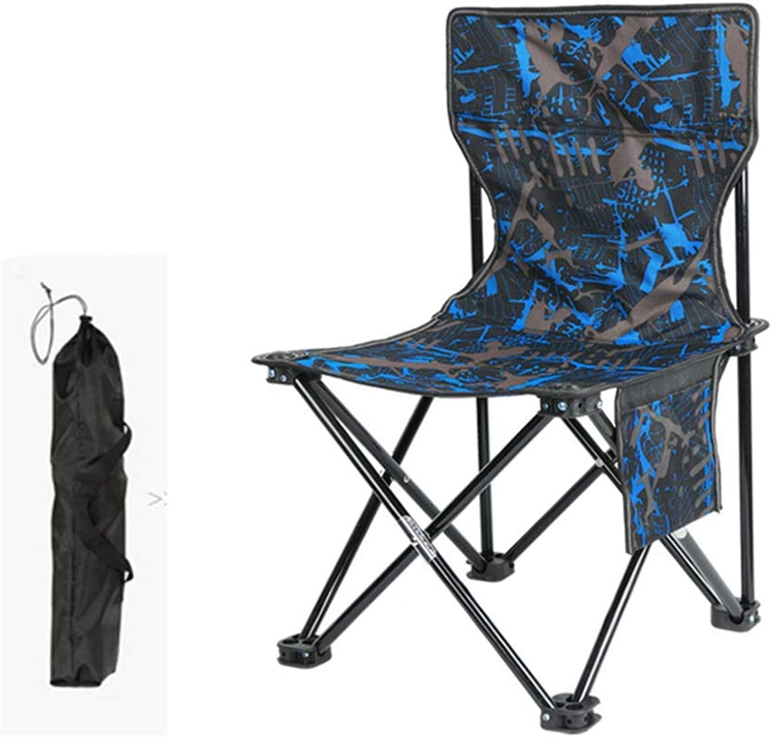 Outdoor Portable Camp Chair,Ultralight Folding Chairs,Breathable Camping Chair Perfect Hiking Fishing Campingblueee 52  33  33cm(20  13  13in)