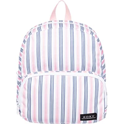 Roxy Always Core Extra Small Backpack (Bright White Maytripes) Backpack Bags