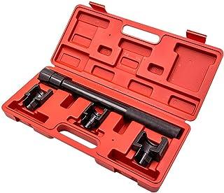 maXpeedingrods Kit de ferramentas de remoção de haste de direção interna com ferramenta de extrator de direção e 3 adaptad...
