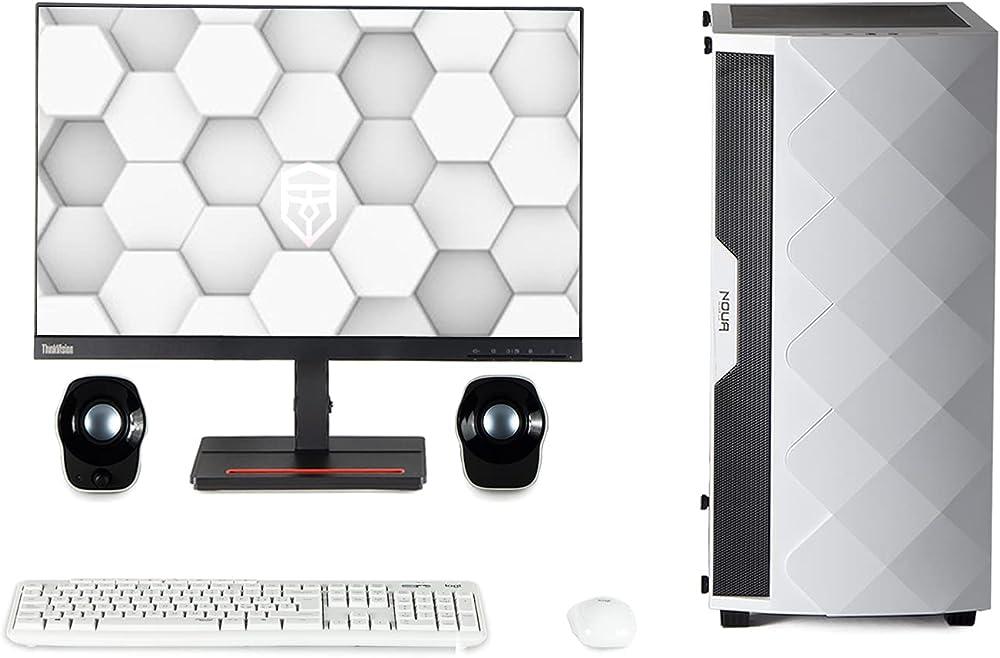 Pc fisso intel i7 grafica intel® uhd 630 ssd 256gb hd 1000gb ram 16gb piu` monitor 24