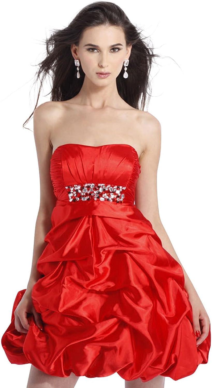 Clarisse Strapless Short Dress 1330