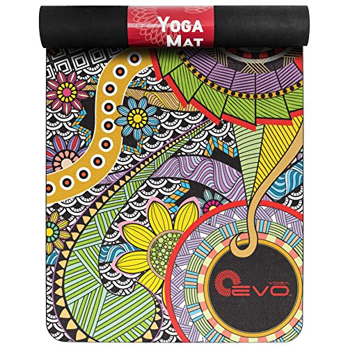 Yoga Mat 3mm  Thick Suede Workout Mat Yoga Suede Mat Bali