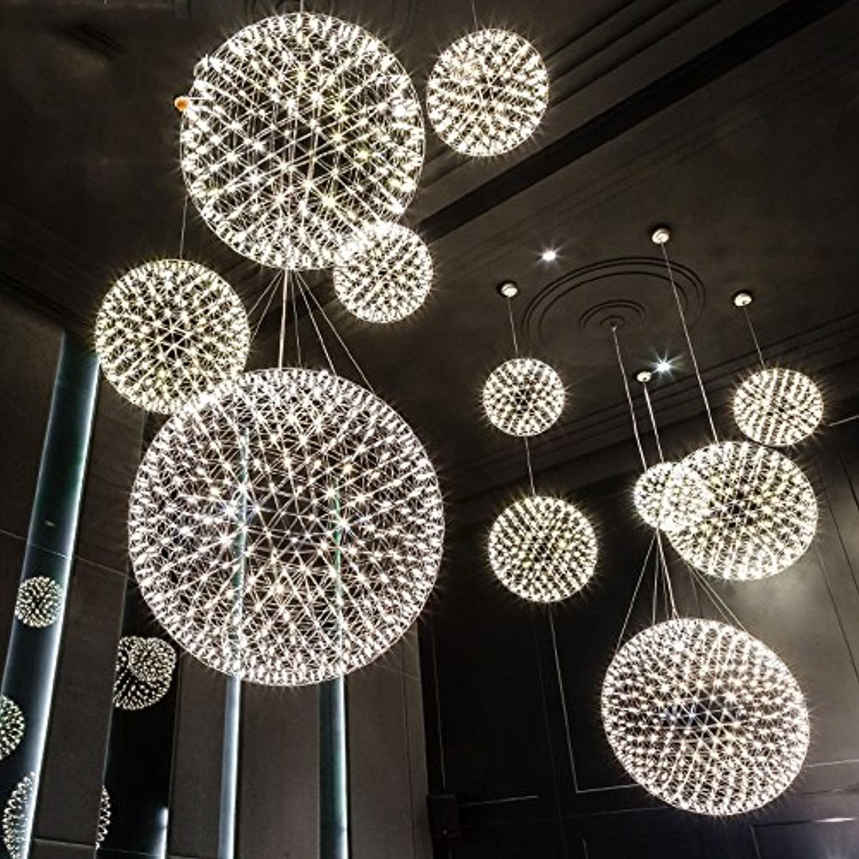 Kronleuchter Postmodern Ball Funke LED-Feuerwerk ...