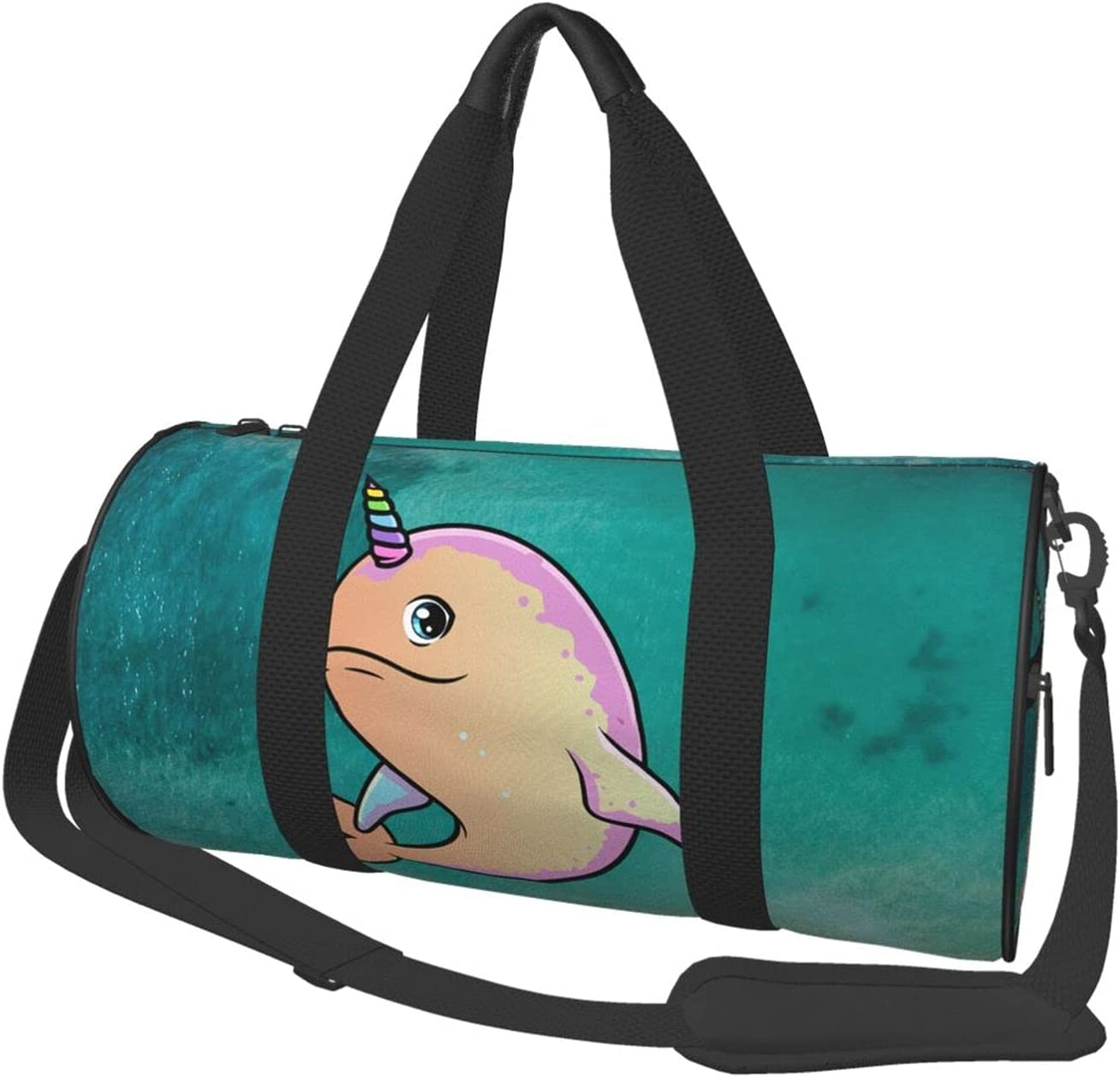Save The Narwhals Travel Popular brand in the world Duffel Strap Ranking TOP3 Bagwith Tote Bag Shoulder