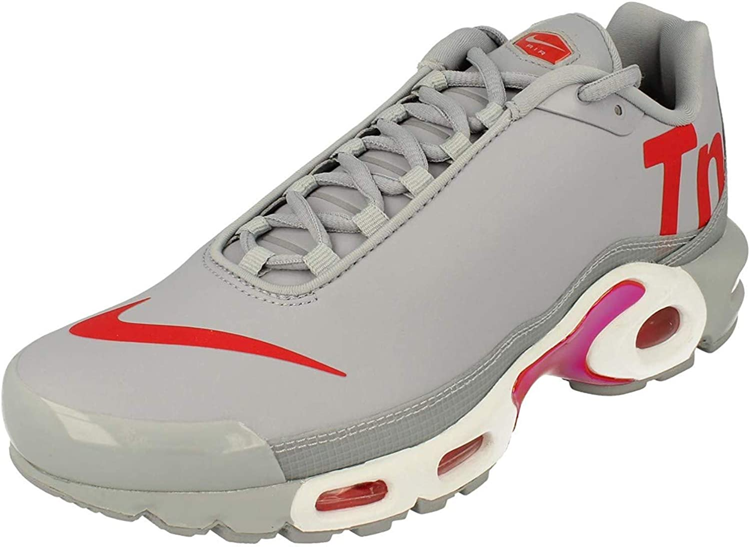 galope adolescentes Lógicamente  Amazon.com | Nike Men's Air Max Plus TN SE Premium Running Shoes | Road  Running