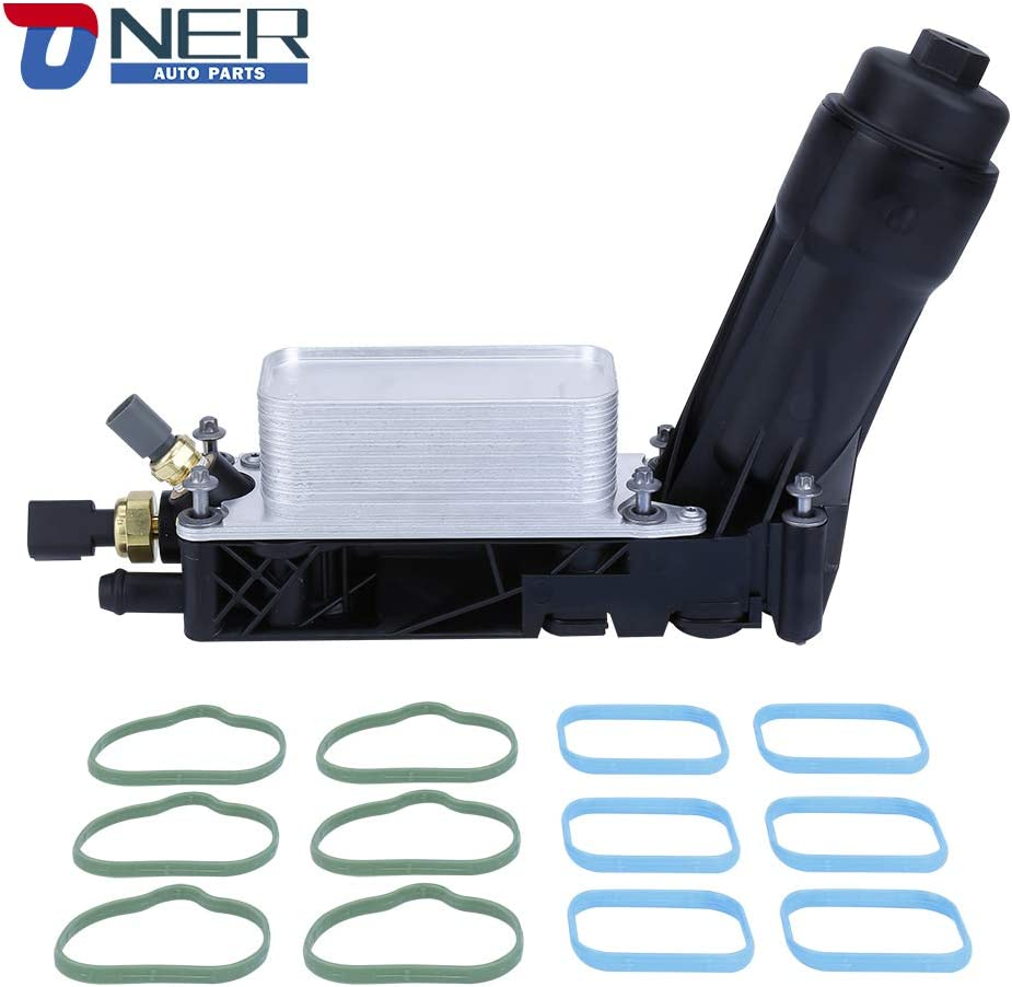 Luxury goods Engine Oil Cooler and Filter Max 83% OFF Compat Housing Adapter Assembly