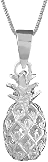 Best pineapple necklace silver Reviews