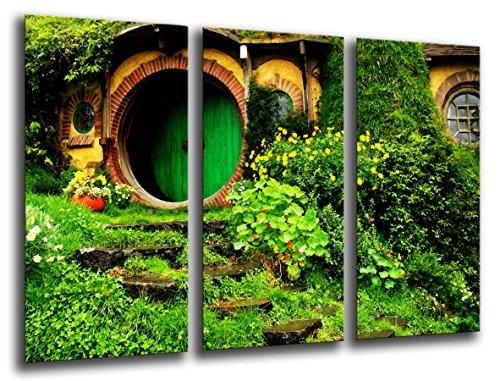 Cuadros Camara Fotográfico El Señor De Los Anillos Tamaño total: 97 x 62 cm XXL, Multicolor