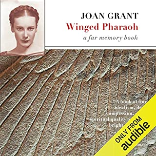 Winged Pharaoh audiobook cover art
