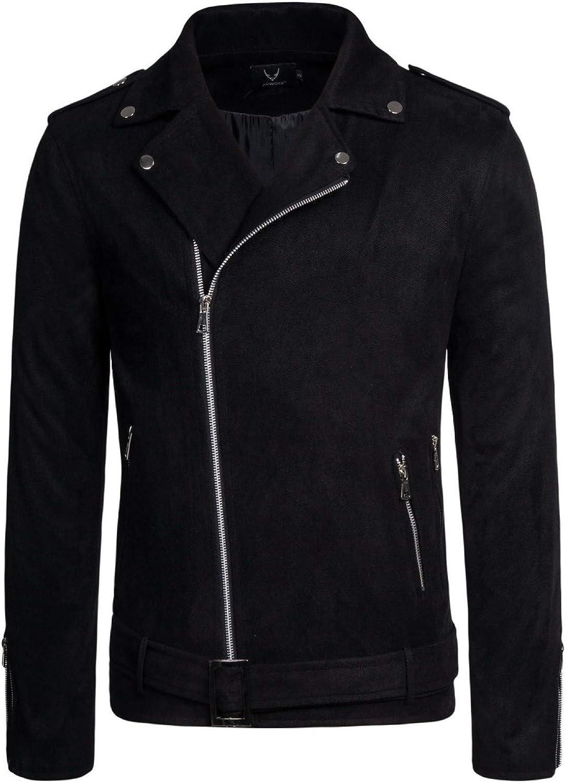 ZumZup Men's Casual Cargo Jacket Autumn Spring Windproof Jackets Outdoor Coat