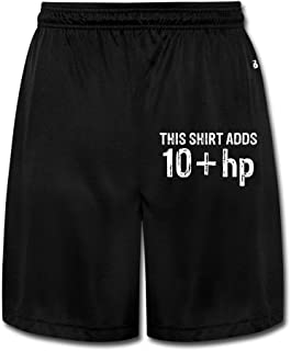 YQUE56 Men's This Shirt Adds Shorts Sweatpants