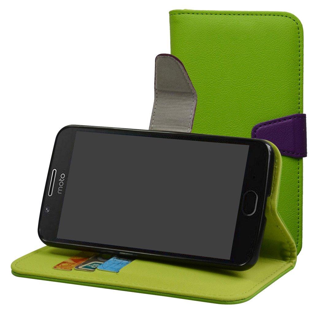 MAMA MOUTH Motorola Moto G5 Funda, PU Cuero Billetera Cartera Monedero con Soporte Funda Caso Case para Motorola Moto G5 (5.0
